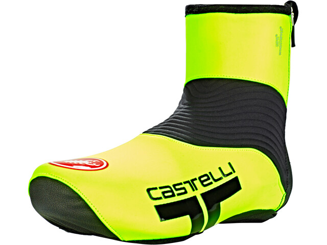 Castelli Narcisista 2 Shoe Covers yellow fluo/black